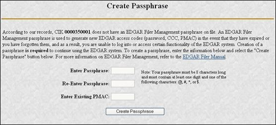 2 Things to Know About EDGAR Passphrase Updates